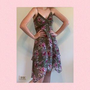 White House Black Market Floral Summer Dress
